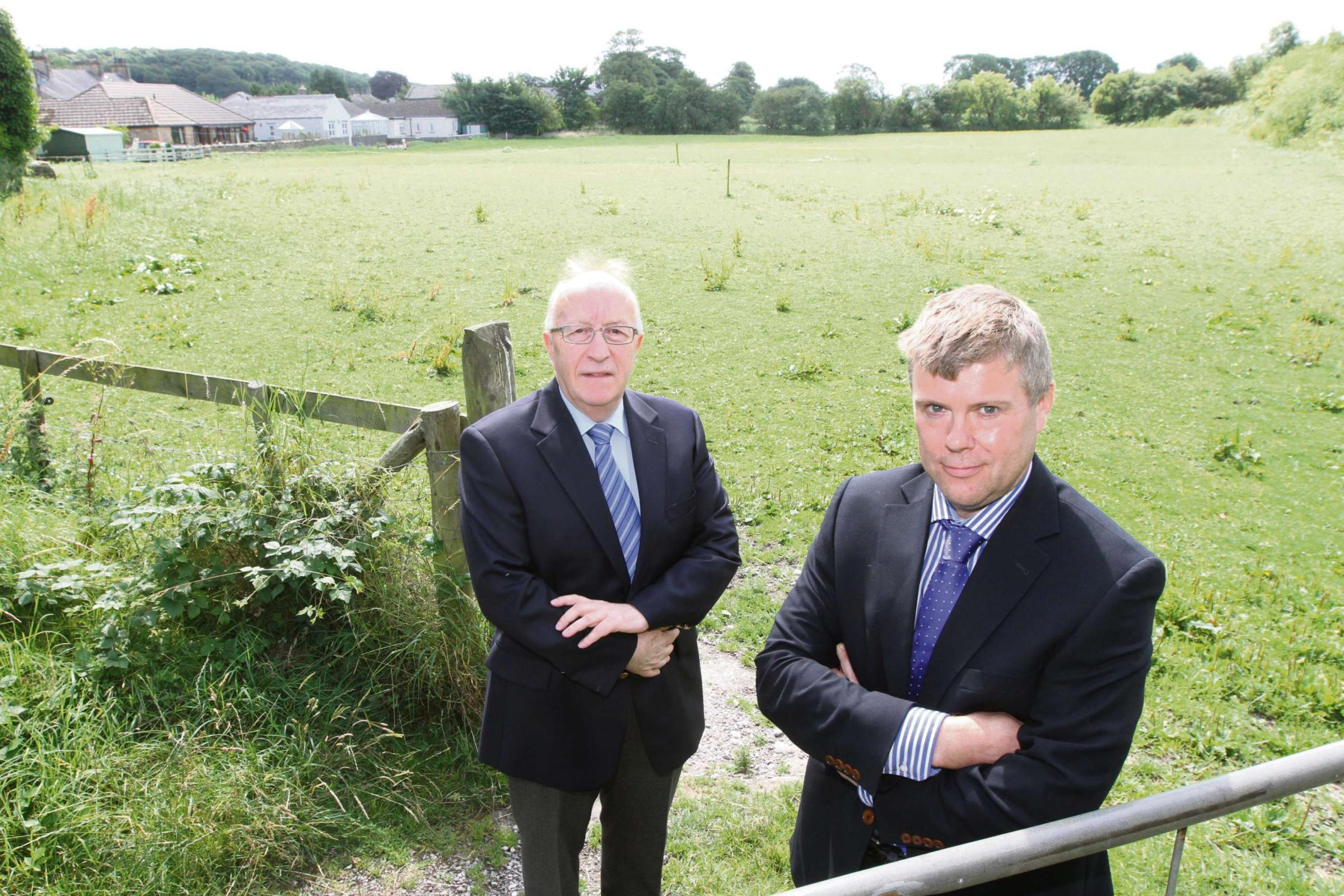Opposition to 25 new homes in Hellfield