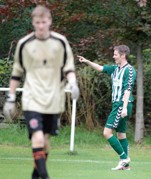 Steeton youngsters claim top scalp