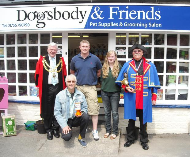 FLASHBACK: Andrew and Emma Stead open their Dogsbody shop in Skipton in 2010