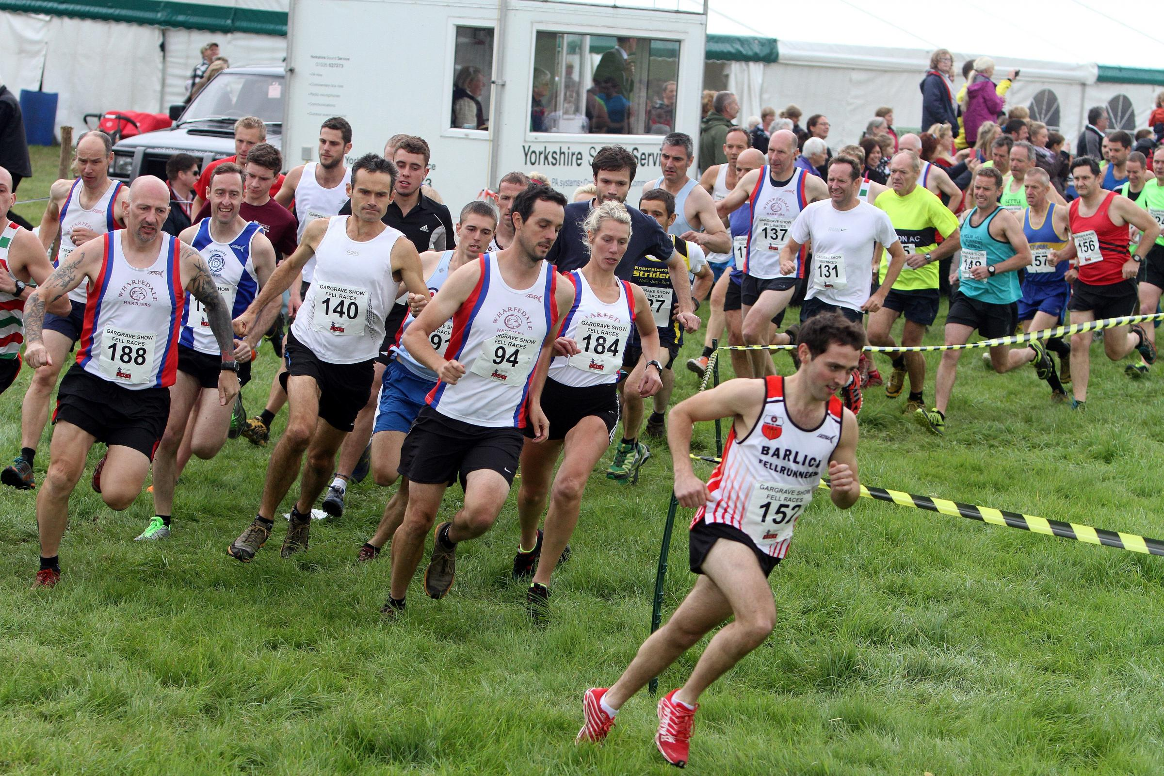 Jimmy Craig storms to victory in Gargrave Fell Race