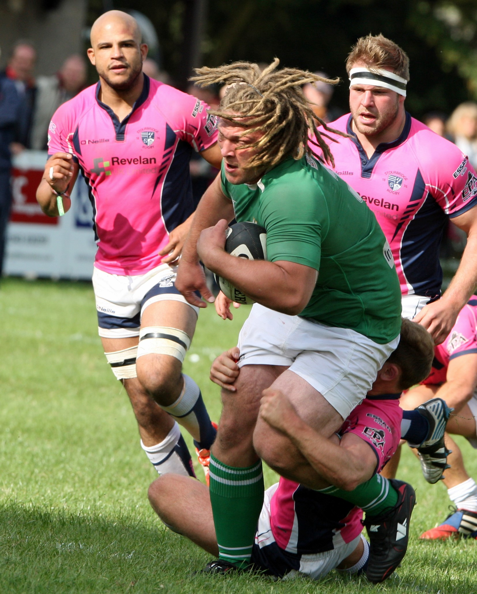 Winger's try Cooks Wharfedale's goose