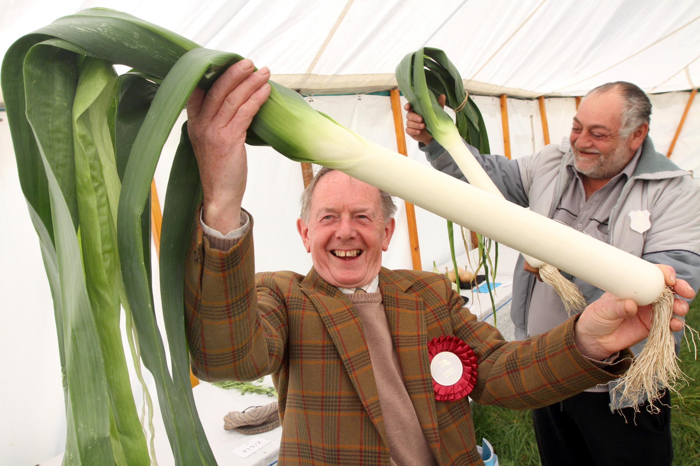Sunny and breezy Kilnsey Show bring smiles to visitors
