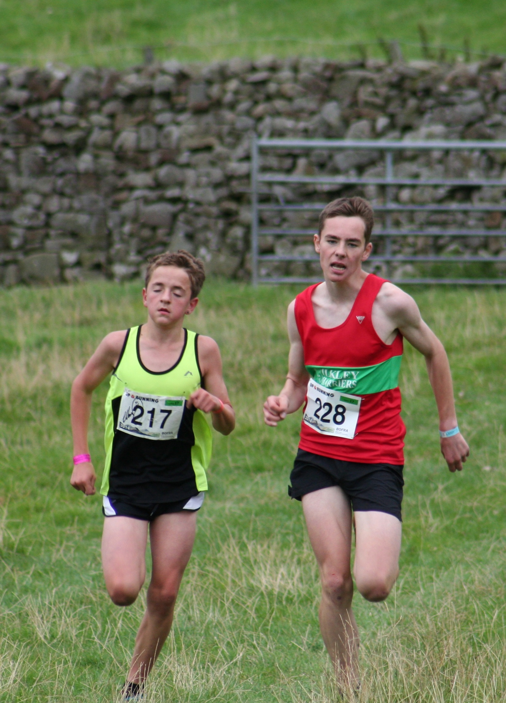Wharfedale's Jack Smith wins at Reeth