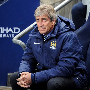 Manuel Pellegrini is taking nothing for granted when Manchester City face Stoke