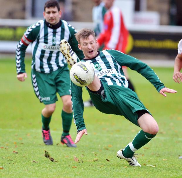 Tim Hird put Steeton ahead on their way to a 3-1 lead