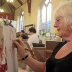 Craven Herald: Pastel artist Jean Lancaster of Silsden Art Group