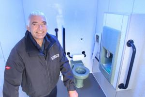Earby opens new toilet block
