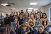 Dutch students visit Craven College