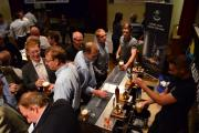 Ale connoisseurs at the recent Addingham Beer Festival