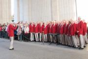 Steeton Male Voice Choir when it performed at the Menin Gate