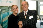 Tara Palmer Tomkinson and Malcolm Weaving of Rendezvous Hotel (Craven Herald) (11907335)