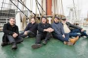 Kimber's Men are described as the finest exponents of sea songs and sea shanties in Britain