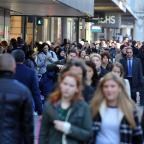 Craven Herald: High streets are expecting a £1.2bn Panic Saturday shopping splurge