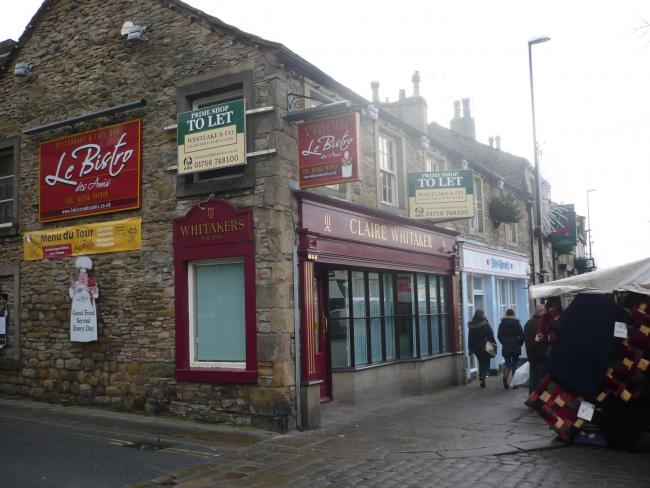 Closed Whitakers Shop In Skipton High Street Had Been