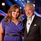 Craven Herald: Leanne Mitchell, winner of the first series of The Voice, with mentor Sir Tom Jones
