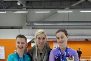 Skating success for Farnhill sisters