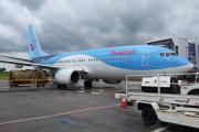 Thomson Airways Boeing 737-800 pictured at LBA which will operate the 2 new routes in summer 2016.