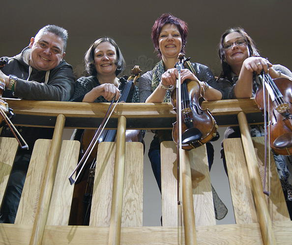New World String Quartet which is due to perform at Giggleswick