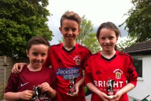 Cunningham family celebrate treble at Silsden