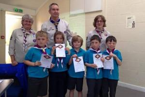 Addingham Beaver Scouts win highest awards