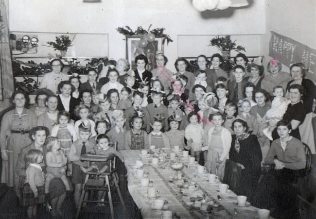 Nostalgia picture: tea party for Broughton and Elslack children in 1956/57