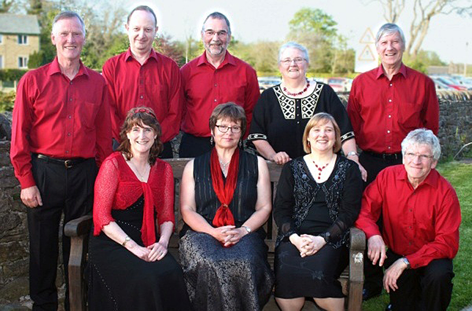 Singing group Octameron will perform at The Folly, Settle