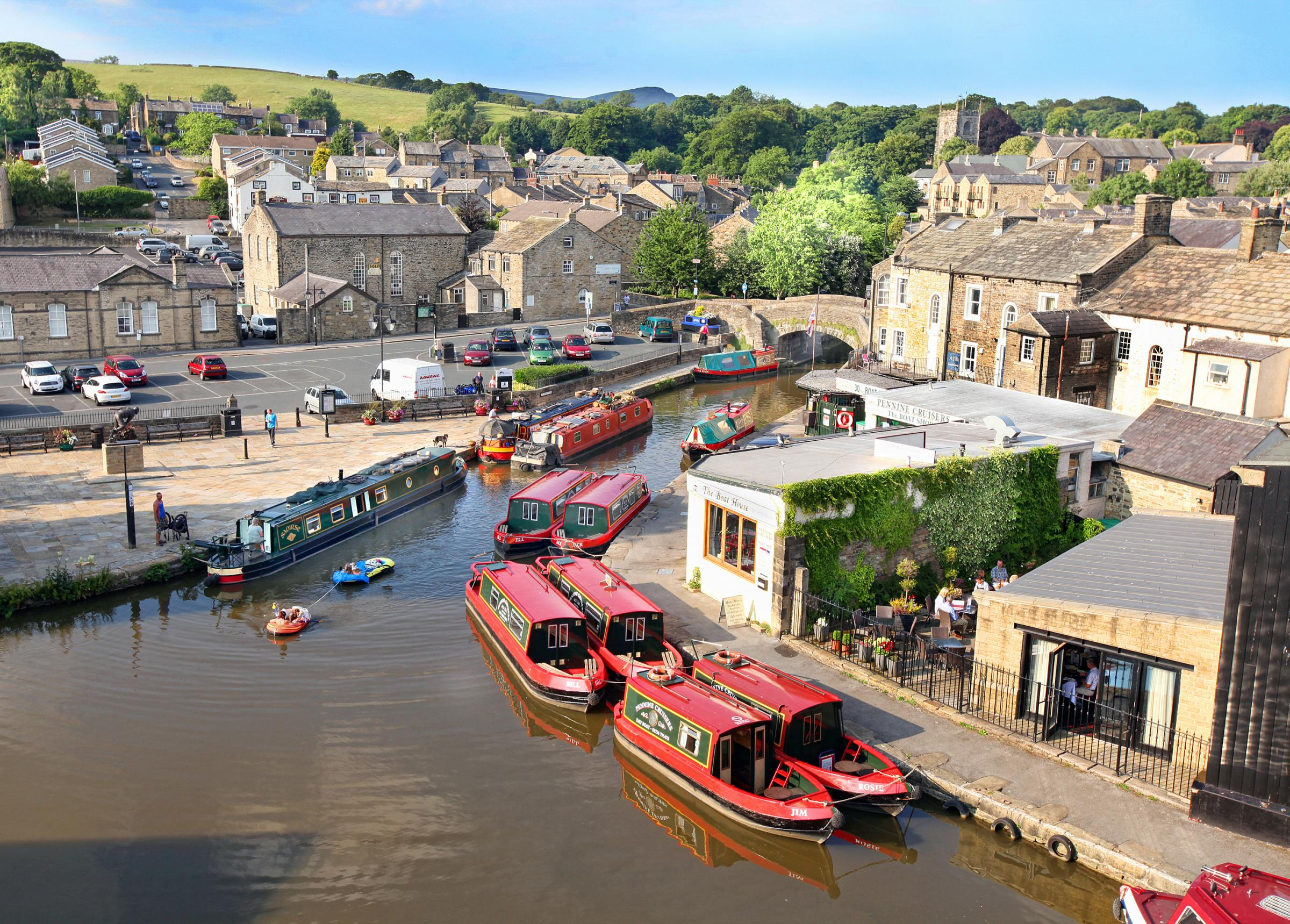 Skipton - once again named amongst best places to live in UK