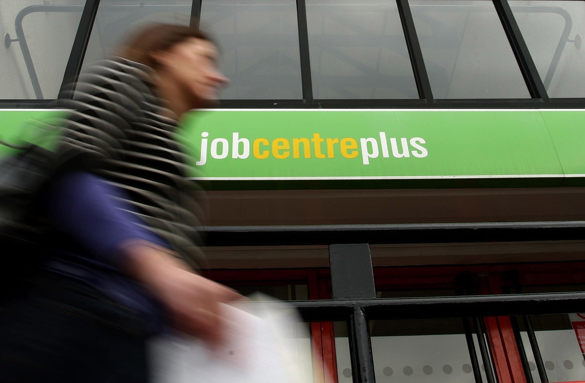 The latest government figures show a slight fall in those claiming unemployment benefits in Bradford