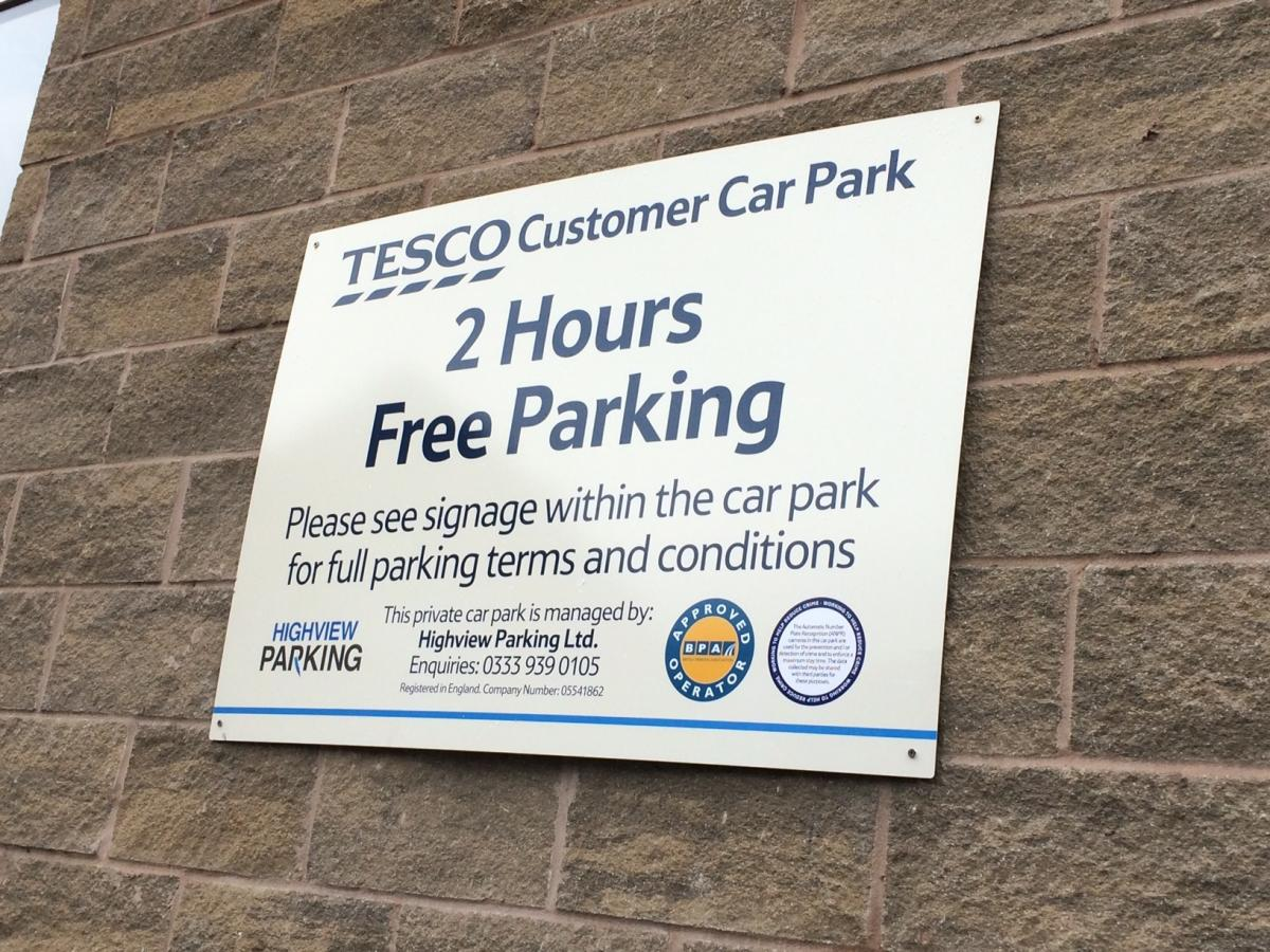 Skipton Tesco Brings In Two Hour Parking Craven Herald