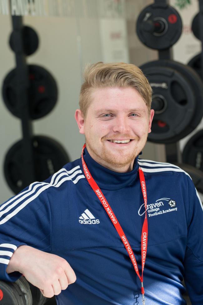 Craven College football coach Luke Swindlehurst gains top licence