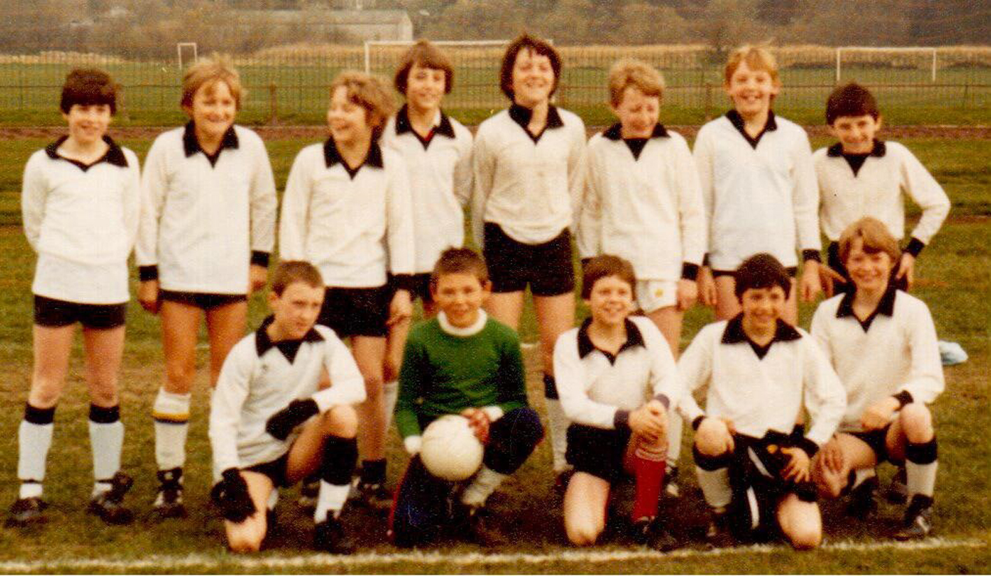 South Craven School football team in 1982
