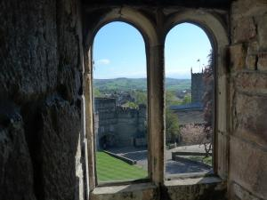Craven Herald: kipton Castle has been shortlisted in a 'Window with a View' competition
