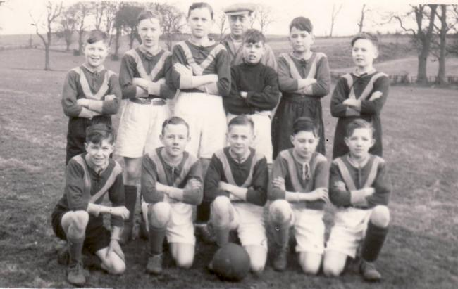 Hellifield Minors in about 1968