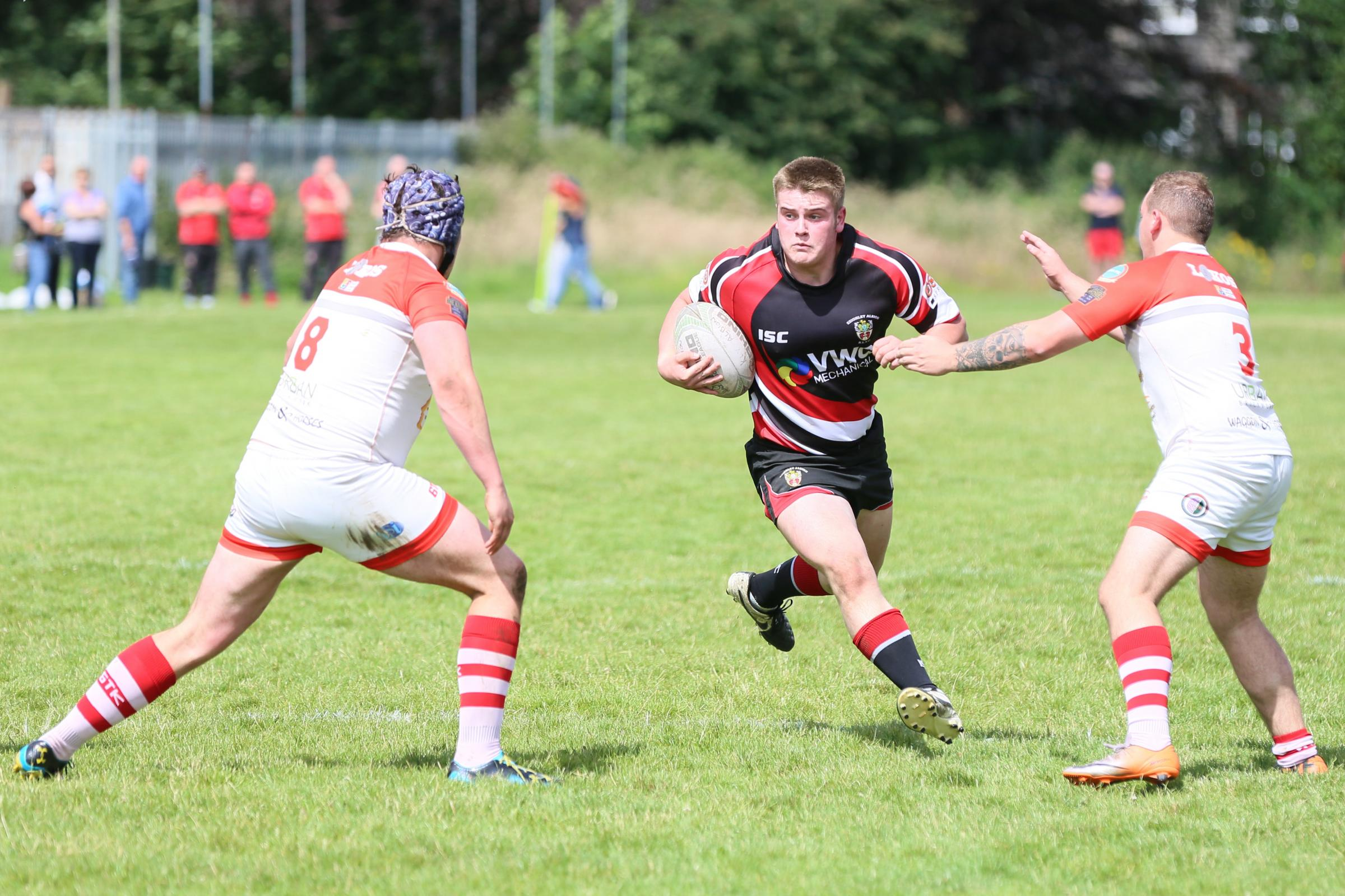 Keighley Albion's Jack Kennedy was on the try scoresheet against New Earswick