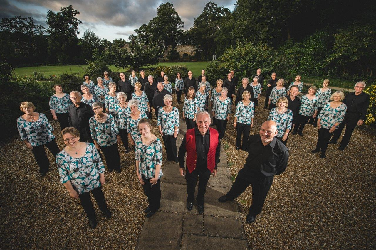 KVU Singers who are performing a celebrity concert in Skipton. Picture by Foxley Photography. Use only to publicise KVU Singers events.