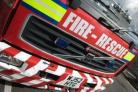 Firefighters called out to blaze at side of road in Ingleton