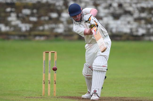 The loss of Bradley Akrigg precipitated a Steeton batting collapse