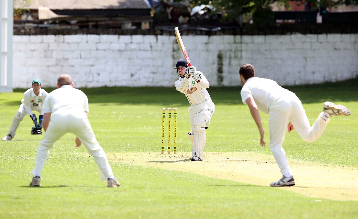 Guiseley's Michael Truswell needs 44 runs for 500 for the season Picture: Chris Booth