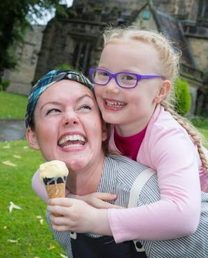 Craven Herald: LOVERS of ice cream were out in force to get an advance taste of treats to come when Skipton's newest bar and kitchen held a promotional event on Saturday.