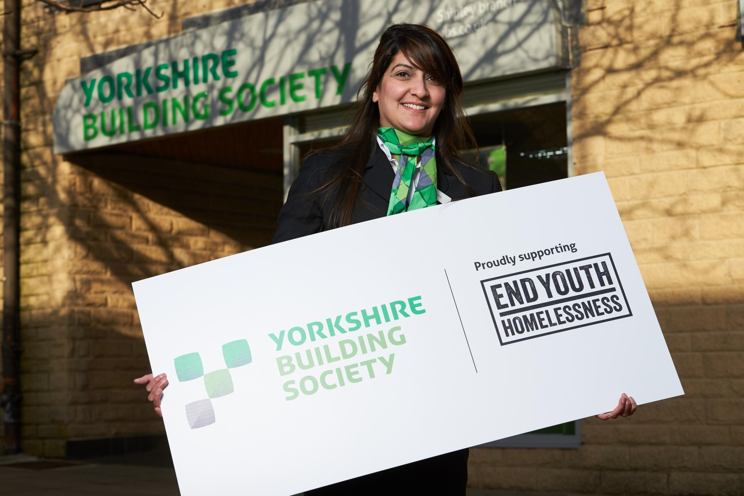 Yorkshire Building Society is supporting End Youth Homelessness
