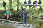 Refugees and Upper Wharfedale residents meet for a day of Yorkshire fun