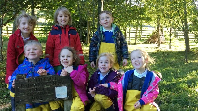 Picture attached: Pupils from Kettlewell Primary School, Katie Robinson, Alice Weber, Jacob Lambert; Jack Lusted, Lila Cowperthwaite, Olivia Huck and Connie Hepworth.