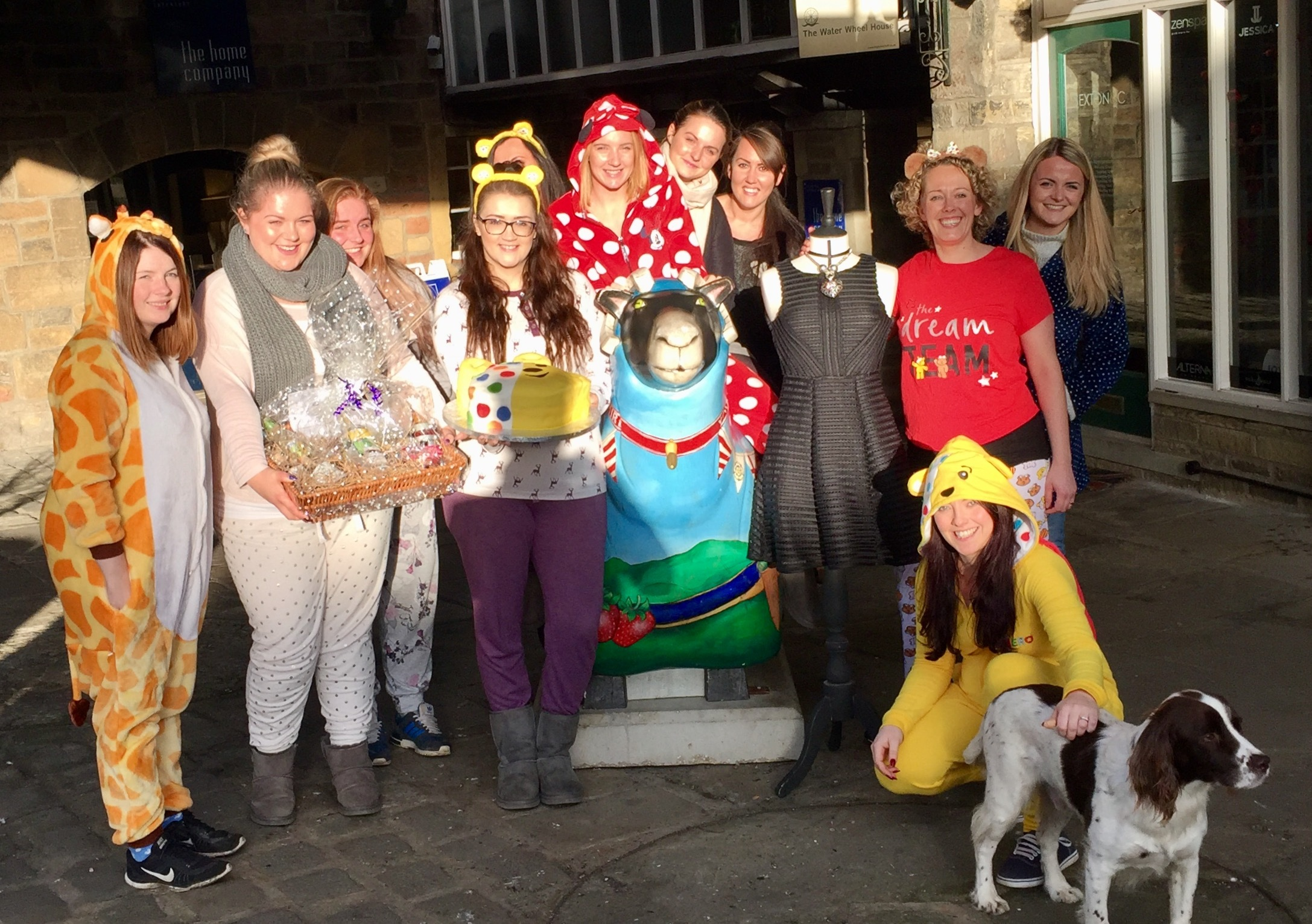 Staff at Justteachers raise cash for the |Children in Need appeal