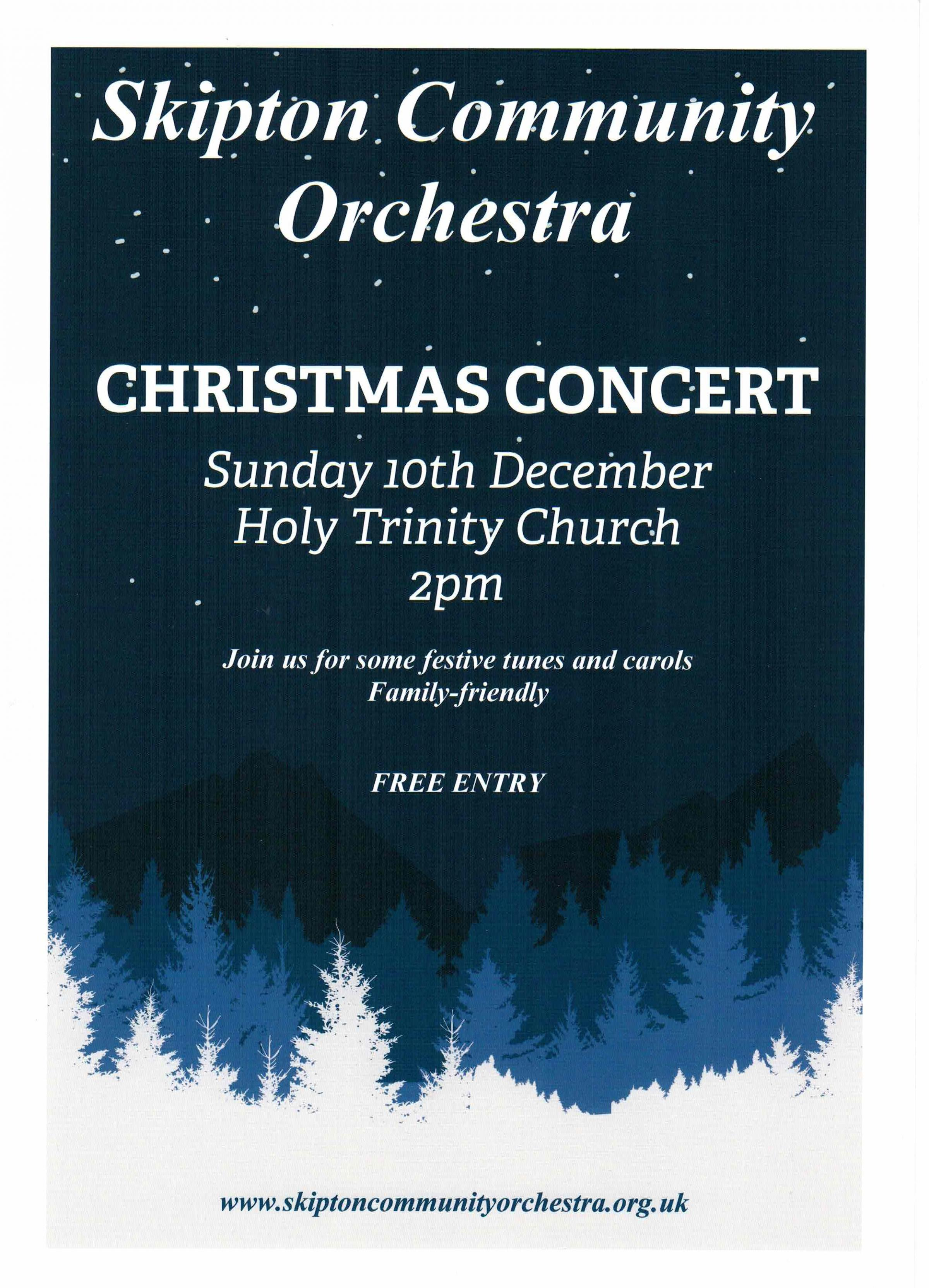 Skipton Community Orchestra Christmas Concert