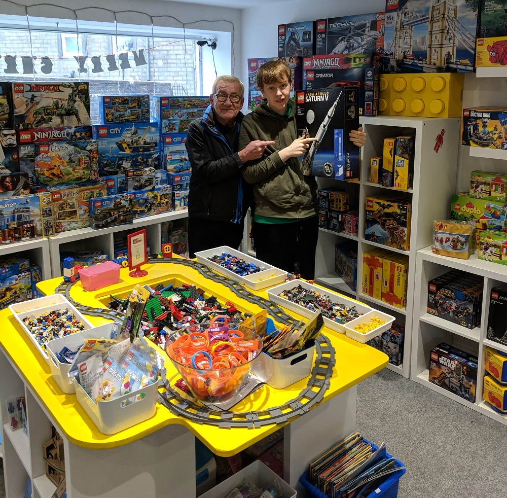 Lego's just the job for Dan   Craven Herald