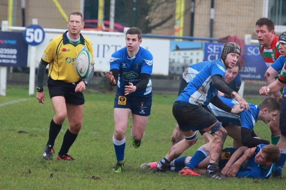 North Ribblesdale scrum half David Fox. Picture: Amelia Blackwell.