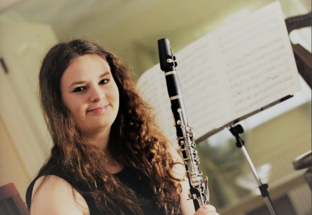Clarinetist Natasha Lomas will be the soloist at two Settle Orchestra concerts