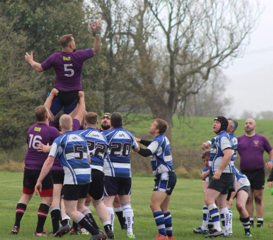 Gareth Atkinson scored a try but it wasn't enough to secure victory