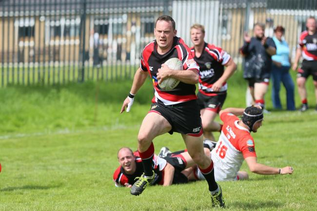 Player-coach Andrew Stokes could not quite guide his team to victory over Allerton