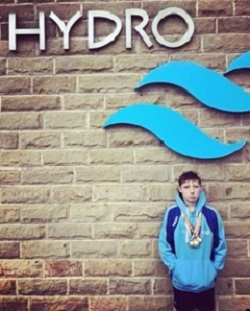 Harry Kaminski secured 5 medals at the B Grade Meet in Harrogate Picture: Jayne Pennington